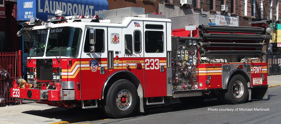 FDNY Engine 233 in Brooklyn
