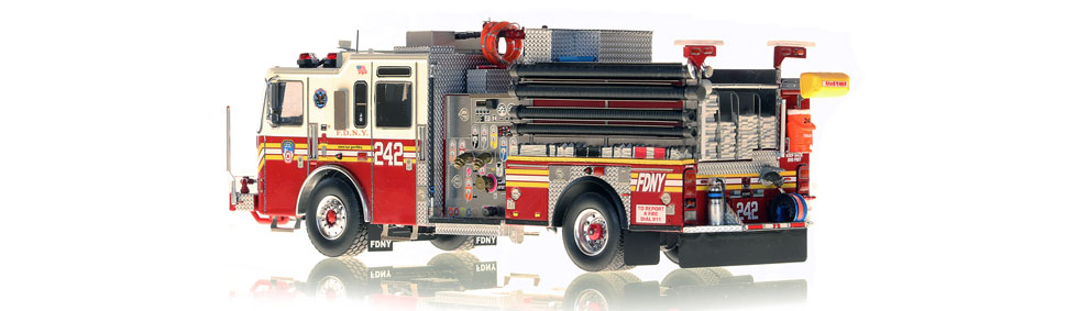 Production of FDNY KME Engine 242 is limited to 75 units.