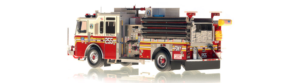 Production of FDNY KME Engine 255 is limited to 75 units.