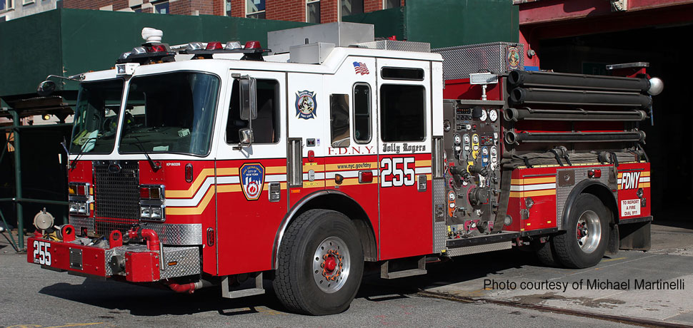 FDNY Engine 255 in Brooklyn