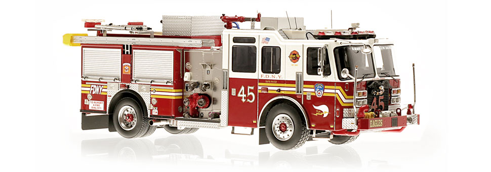 The first museum grade replica of FDNY's KME Engine 45