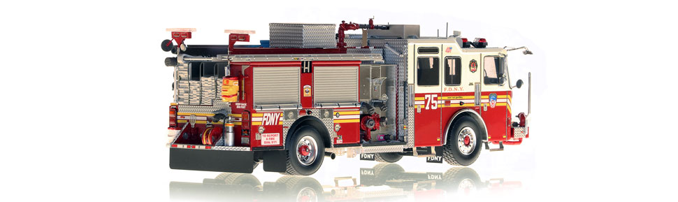 Production of FDNY KME Engine 75 is limited to 75 units.