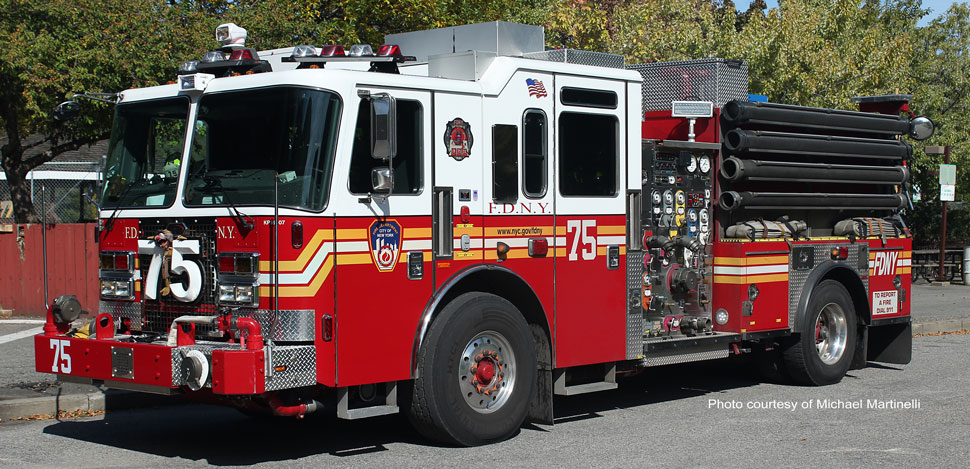 FDNY KME Engine 75 in the Bronx
