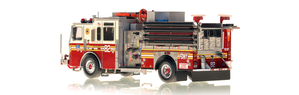 Production of FDNY KME Engine 82 is limited to 75 units.