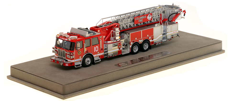 Columbus Ladder 10 scale model is museum grade