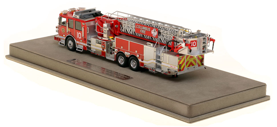 Columbus Ladder 10 is limited in production and includes a fully custom case.
