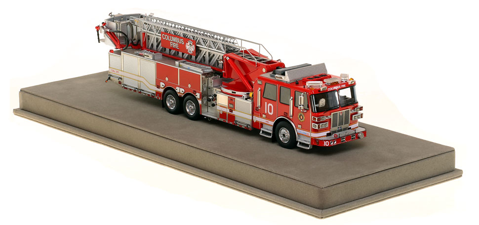 Columbus Ladder 10 has a 0.6mm stainless steel ladder