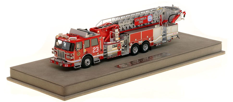 Columbus Ladder 23 scale model is museum grade