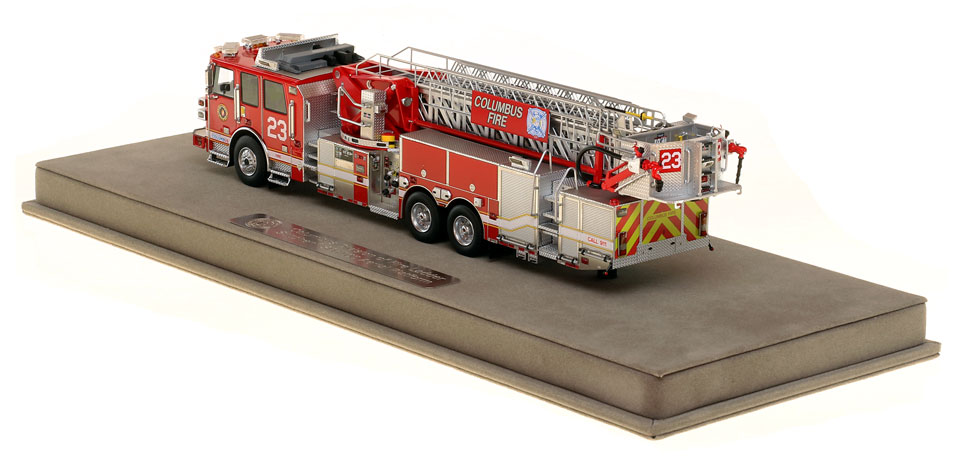 Columbus Ladder 23 is limited in production and includes a fully custom case.
