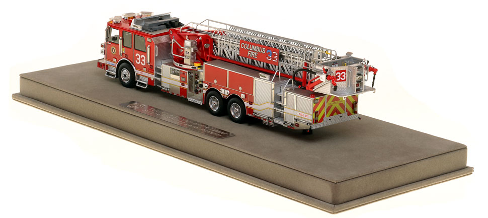 Columbus Ladder 33 is limited in production and includes a fully custom case.