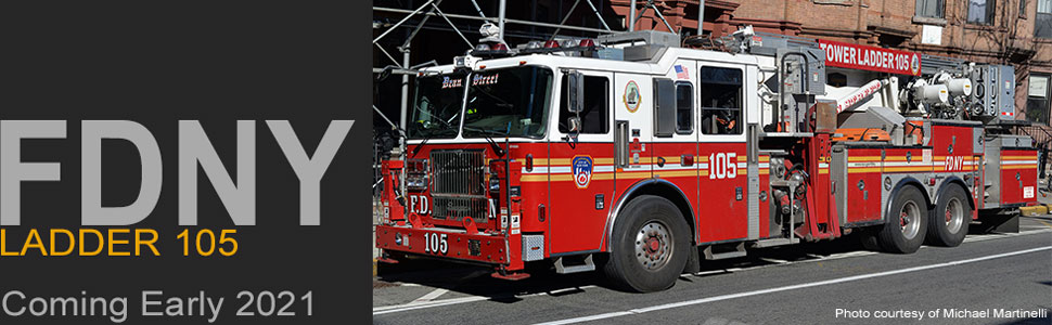 FDNY Ladder 105 on Dean Street coming early 2021!