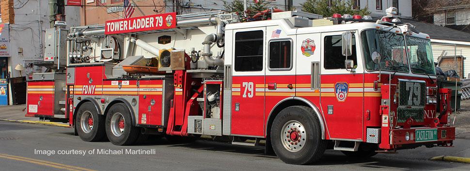 FDNY Tower Ladder 79 in Staten Island