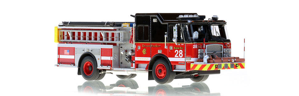 CFD Engine 28 is a hand-crafted scale model