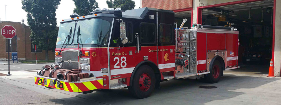 Chicago Fire Department Engine 28