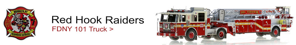 FDNY Ladder 101 for Brooklyn's Red Hook Raiders