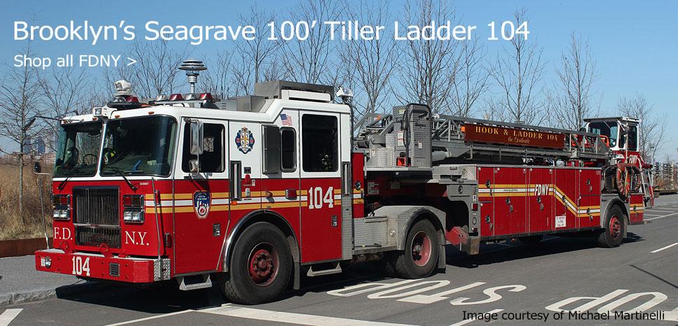 Shop FDNY scale model fire trucks