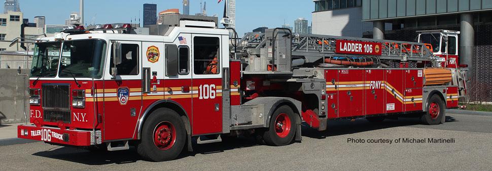 FDNY Ladder 106 courtesy of Michael Martinelli