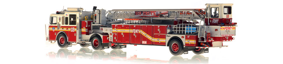 Production of FDNY Ladder 118 is limited to 50 units.