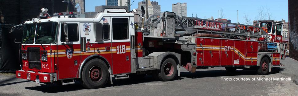 FDNY Ladder 118 in Brooklyn