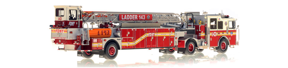 Production of FDNY Ladder 143 is limited to 50 units.