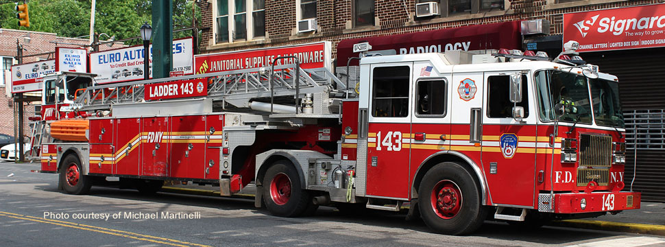 FDNY Ladder 143