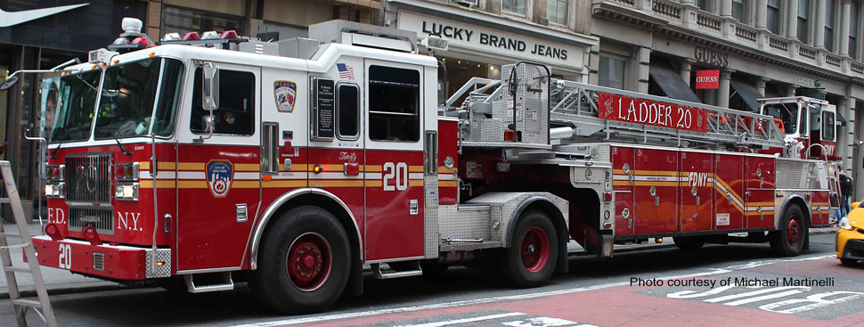 FDNY Ladder 20 courtesy of Michael Martinelli