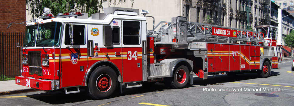 FDNY Ladder 34 courtesy of Michael Martinelli