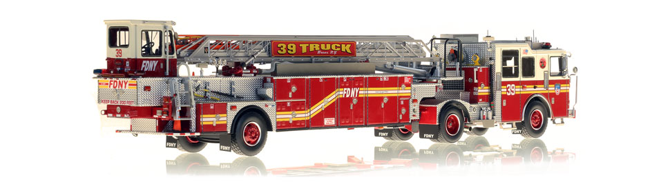 Production of FDNY Ladder 39 is limited to 50 units.