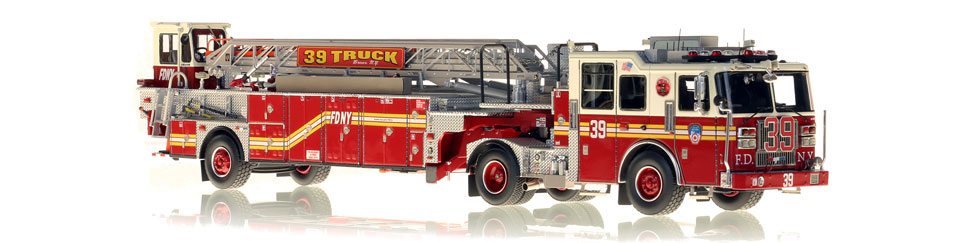 The first museum grade replica of FDNY Ladder 39