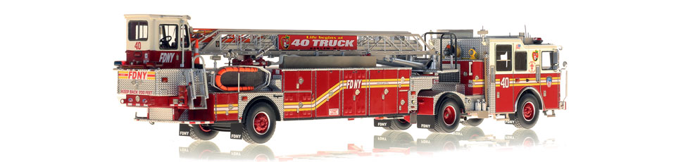Production of FDNY Ladder 40 is limited to 50 units.