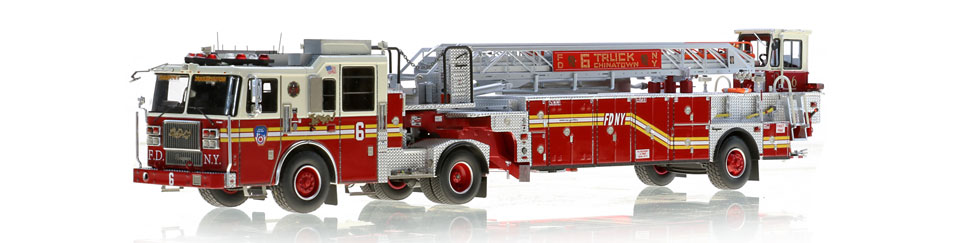 FDNY Ladder 6 scale model