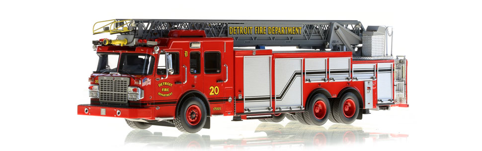 Detroit Ladder 20 scale model is museum grade