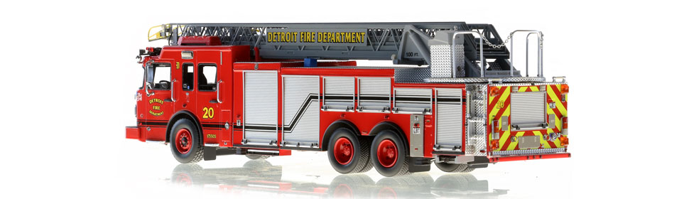 Production of Detroit Ladder 20 is limited to 50 units.