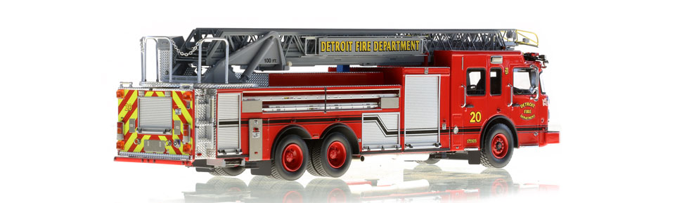 Detroit Ladder 20 consists of 710 hand-crafted parts.