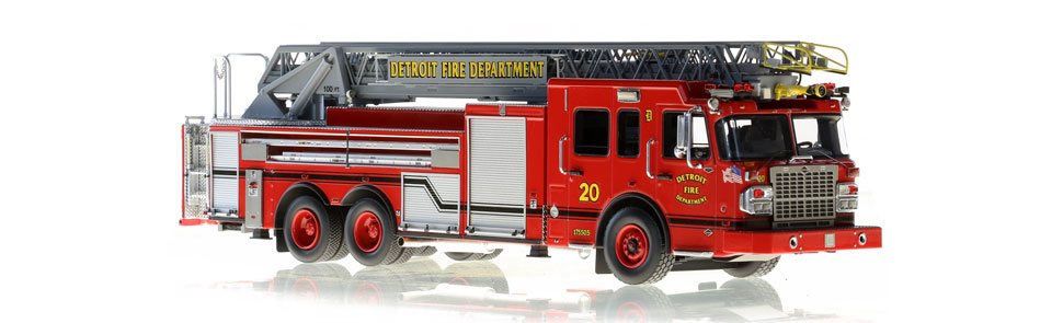 Detroit Ladder 20 features hundreds of stainless steel parts.