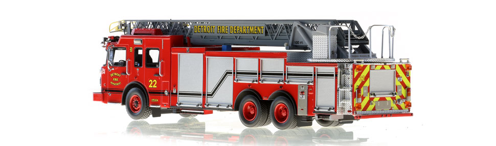 Detroit Ladder 22 features hundreds of stainless steel parts.