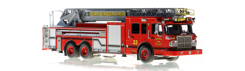 Production of Detroit Ladder 22 is limited to 50 units.