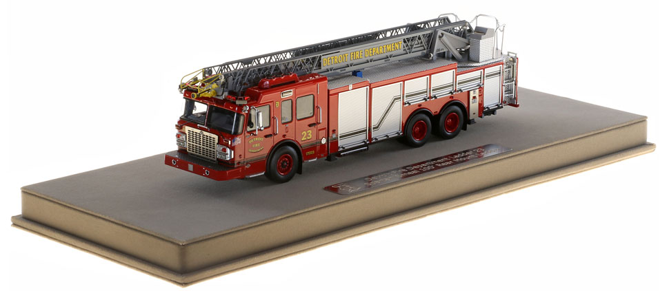 Detroit Ladder 23 includes a fully custom display case.