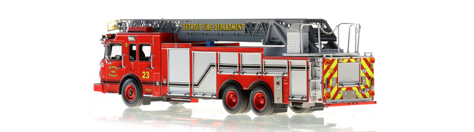 Production of Detroit Ladder 23 is limited to 50 units.