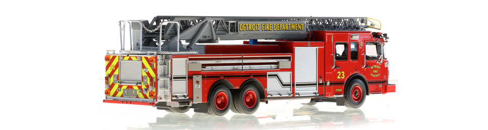 Detroit Ladder 23 consists of 710 hand-crafted parts.