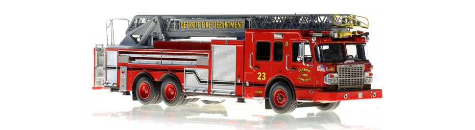 Detroit Ladder 23 features hundreds of stainless steel parts.