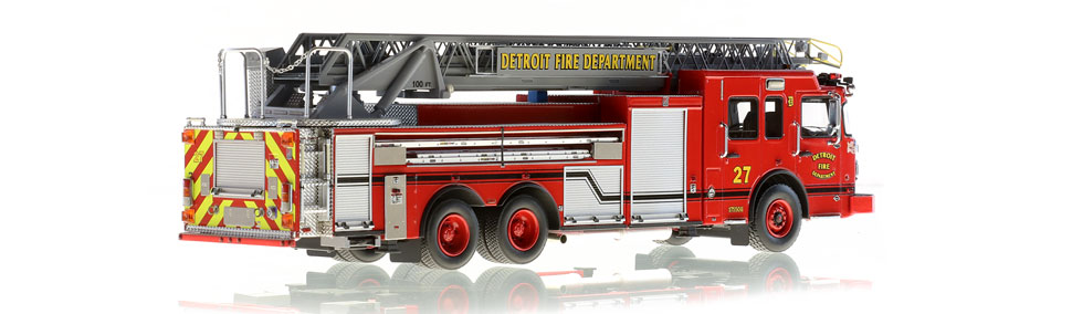 Detroit Ladder 27 consists of 710 hand-crafted parts.