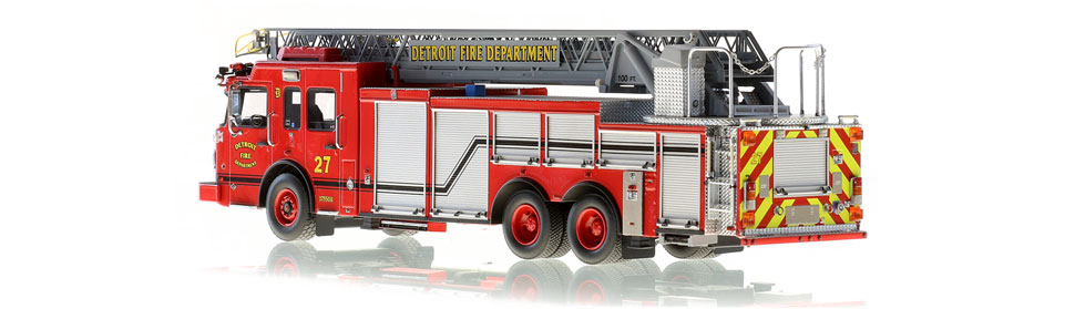 Production of Detroit Ladder 27 is limited to 50 units.