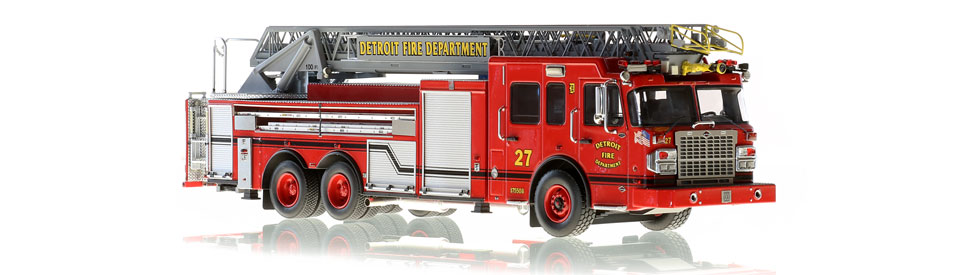 Detroit Ladder 27 features hundreds of stainless steel parts.