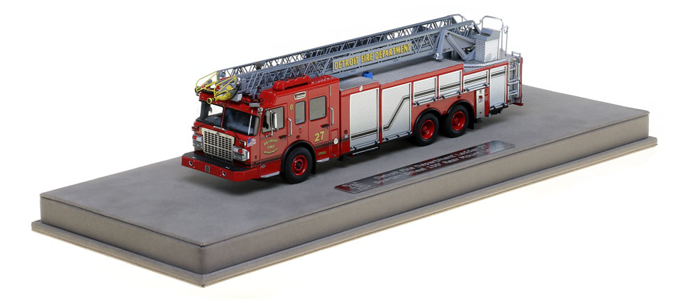Detroit Ladder 27 includes a fully custom display case.