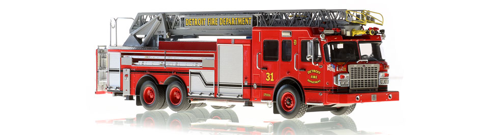 Detroit Ladder 31 features hundreds of stainless steel parts.