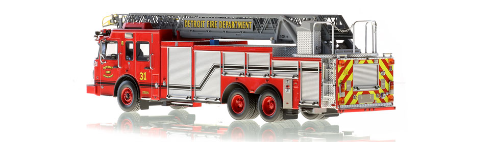 Production of Detroit Ladder 31 is limited to 50 units.