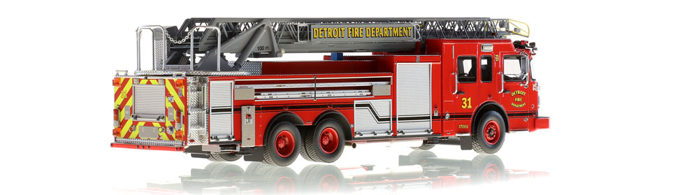 Detroit Ladder 31 consists of 710 hand-crafted parts.