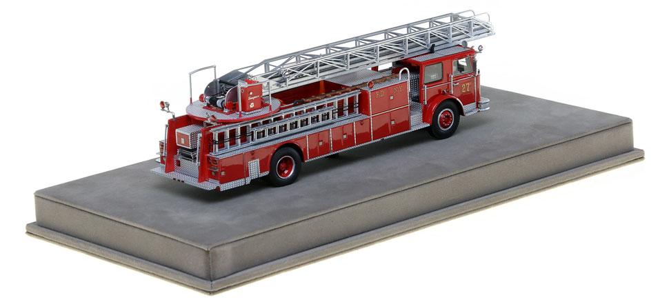 1:50 FDNY Ladder 27-2 scale model