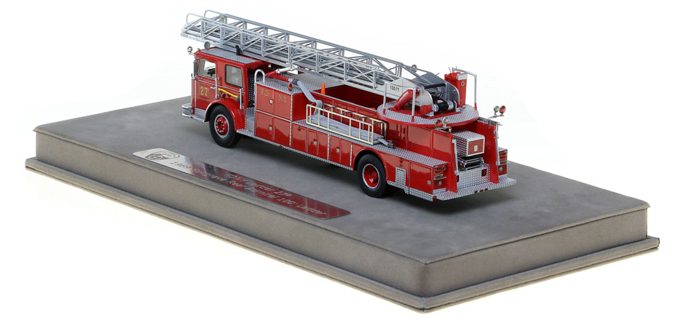 FDNY Ladder 27-2 includes a fully custom case.